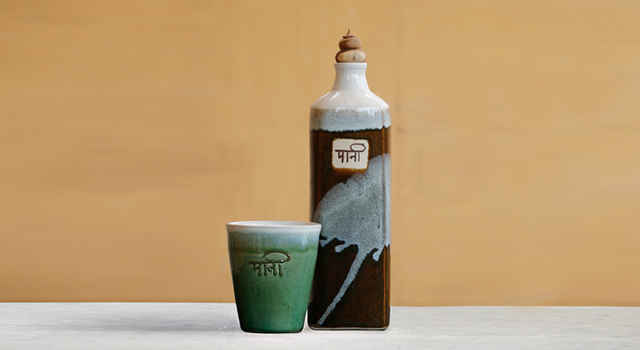 Paani bottle and cup from Dhoop