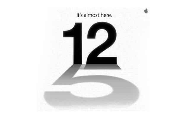 The iPhone 5 will be launched on September 12