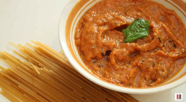 Manisha's recipe for quick and easy pasta sauce