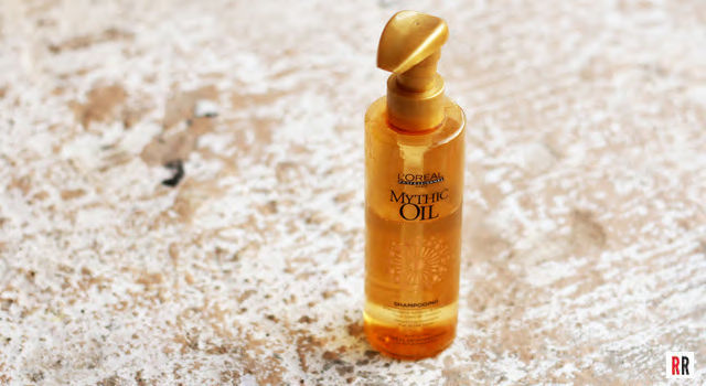 L'Oreal's Mythic Oil Shampoo works like a conditioner, bringing amazing smoothness to my hair