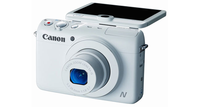 CES 2014: Canon Launches PowerShot N100 with Rear Camera