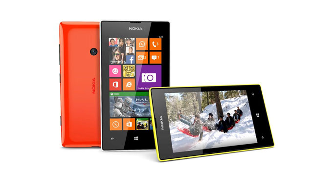 The Nokia Lumia 525 has a 4-inch touchscreen and 1GB RAM