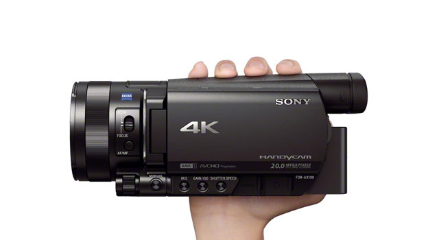 CES 2014 News: Sony Launches compact 4K Camcorder, the FDR-AX100