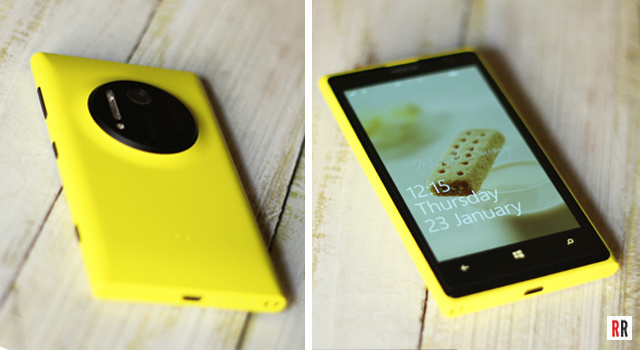 Review of the bright yellow Nokia Lumia 1020 with a 41-megapixel camera