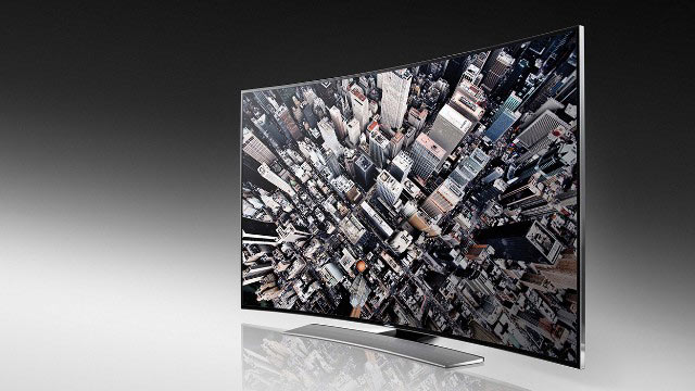 Samsung 4K Curved Display