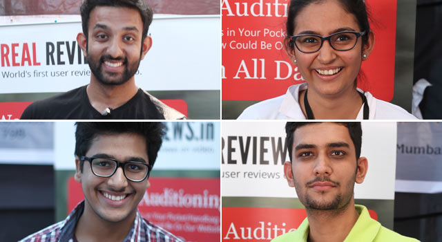 Real Reviews Video Auditions at Aahan 2015