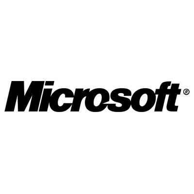 Microsoft's old logo