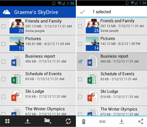 Microsoft launches free SkyDrive App for Android phones ahead of Windows 8