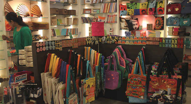 Eco Corner at High Street Phoenix, Lower Parel
