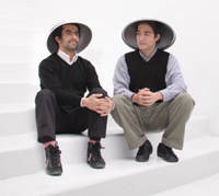 Ali Ganjavian of Kawamura-Ganjavian, the design duo behind Ostrich Pillow