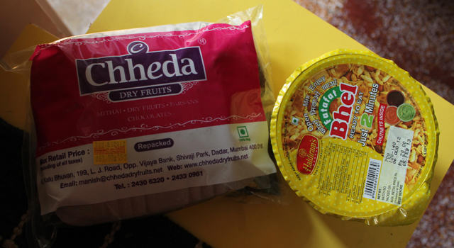 Which is the better bhel? Haldiram's v.s Chheda