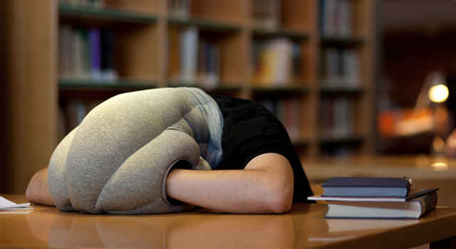 The Ostrich Pillow designed by Ali Ganjavian