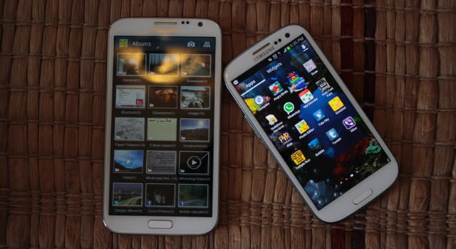 Real Reviews - Samsung's Stars: The Galaxy Note II and Samsung S III