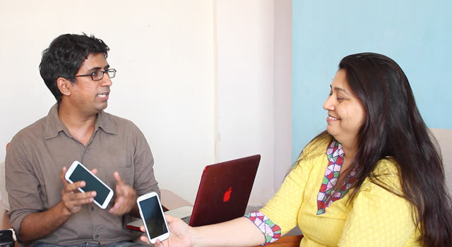Real Reviews: Clint and Aparna discuss their Samsung phones