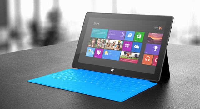 Microsoft Surface Tablets Starting at $499