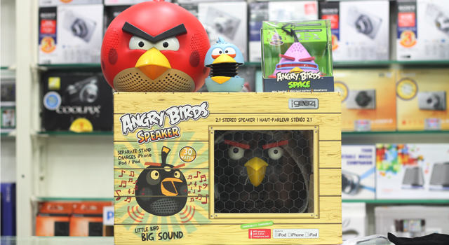 Real Reviews: Angry Birds Speakers from Gear 4 in collaboration with Rovio