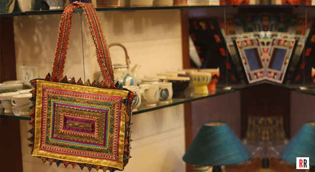 Pabi Bag at Dhoop, a home decor and handicrafts store in Khar, Mumbai