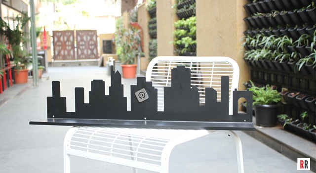 Cityscape Magnetic Shelf from Random in Tandem