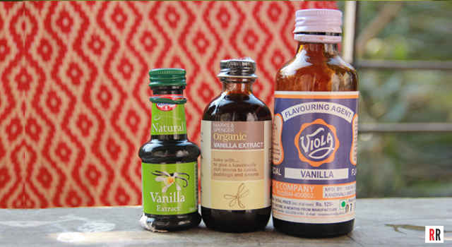 Vanilla Extract vs. Vanilla Essence brands