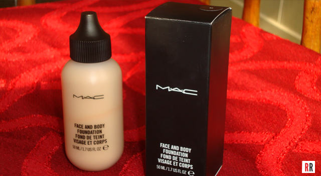 Real Reviews: MAC face and body foundation