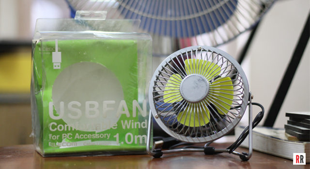 Real Reviews: Review of the Elecom USB Desk Fan