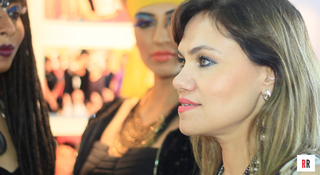 Real Reviews meets celebrity makeup artist and stylist Marvie Ann Beck at Professional Beauty 2013