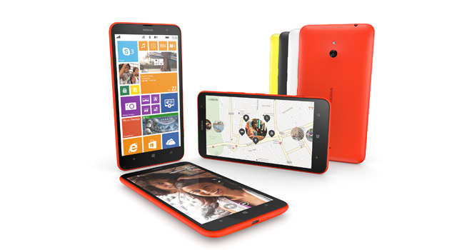 The Lumia 1320 is being positioned as a low-end version of the Lumia 1520
