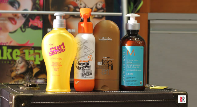 Four hair products to fix frizzy curls!
