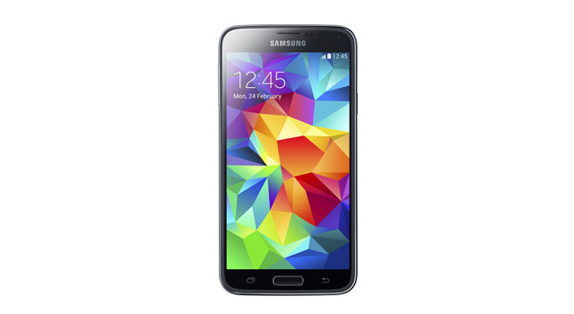 Samsung Galaxy S5 Charcoal Black Front