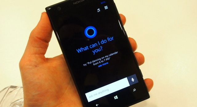 Cortana is powered by Bing also means it can tap into a cornucopia of information about restaurants, places to visit, finance, sports, business
