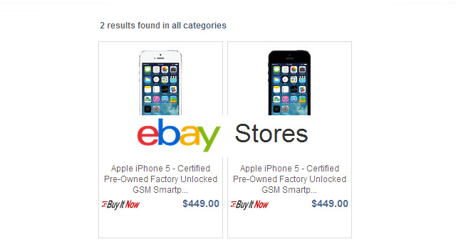 The half a dozen iPhone 5's are priced in the range of $450 and $500