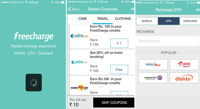 Freecharge App Review